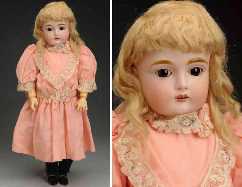 kestner jdk F  10 167 bisque socket head child doll