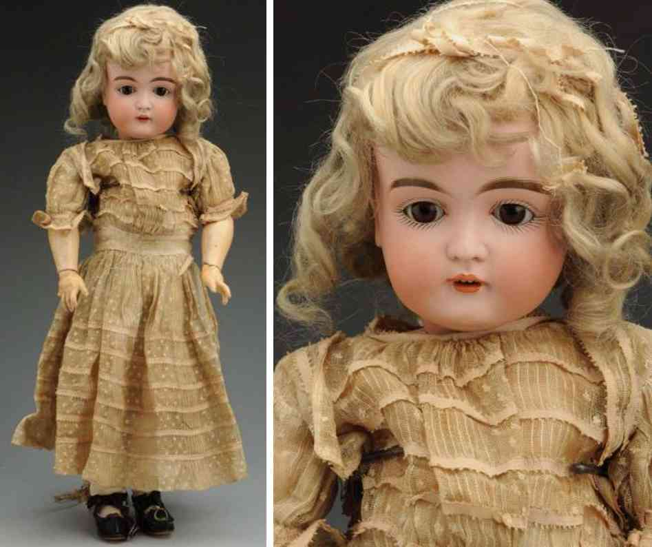 kestner jdk f 10 152 bisque socket head child doll