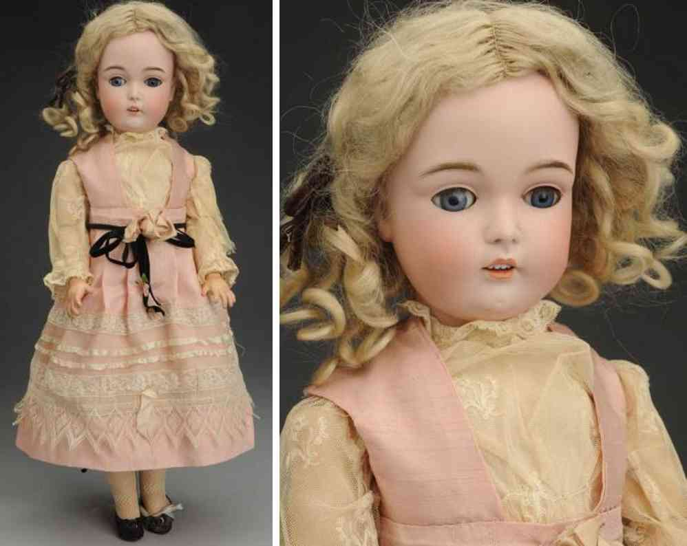 kestner jdk f 1/2 10 1/2 171 (53)  bisque socket head child doll