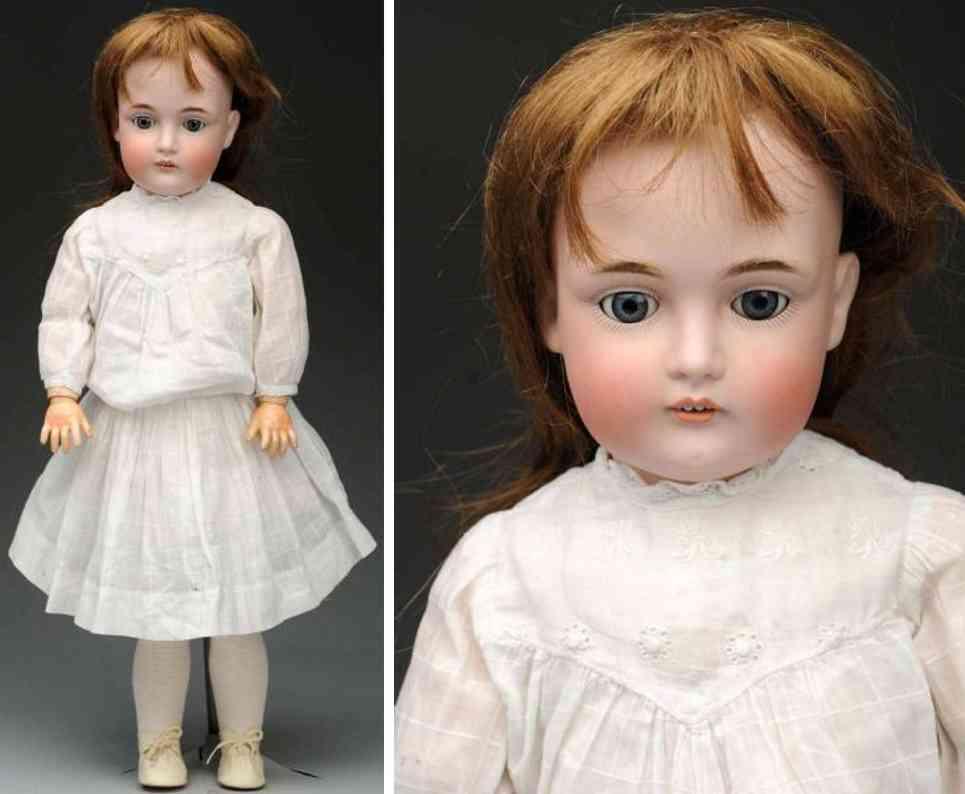 kestner jdk F 1/2 10 1/2 174 bisque socket head child doll