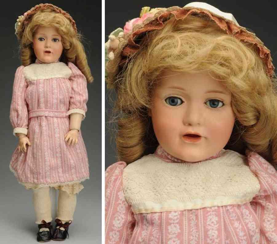 kestner jdk f 1/2 10 1/2 241 bisque socket head child doll
