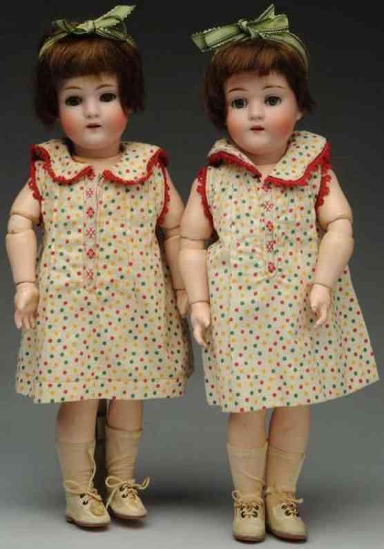 kley & hahn 3/0 zwillinge mit porzellankurbelköpfen