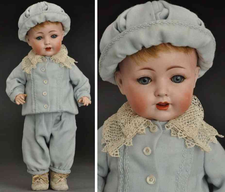 koenig & wernicke 98 8 bisque socket head character baby doll