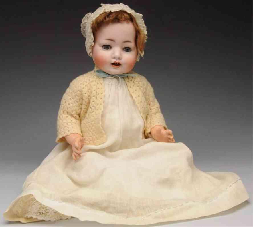 koenig & wernicke 99/11 bisque socket head character baby doll