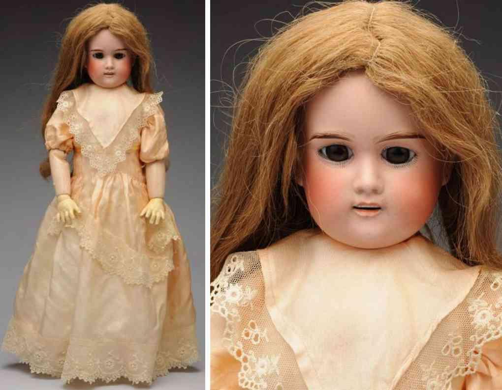 lanternier a 7 bisque socket head child doll