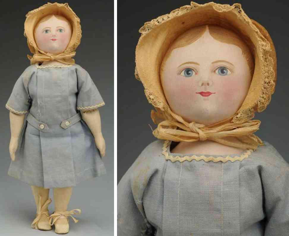 maggie bessie dolls Cloth doll stoffpuppe