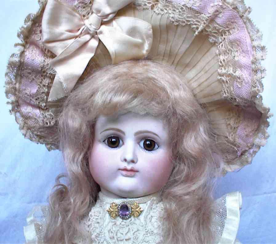 petit & dumoutie lady bisque head doll