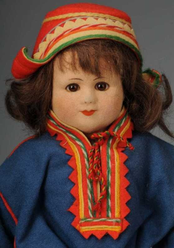 Petterssen Ronnaug Puppe Lapplandmädchen
