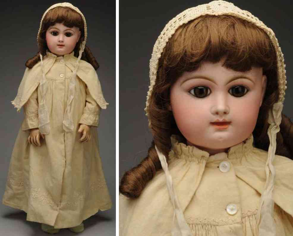 rabery & delphieu R5D bisque socket head baby doll