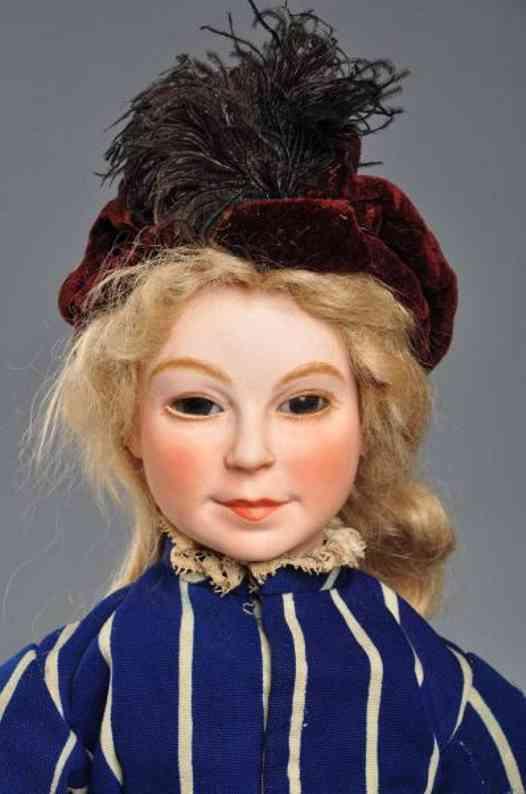 196/16 Puppe Puppenkopf von van Rozen