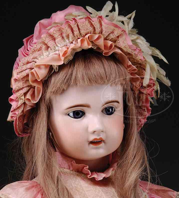 sfbj 13 dolls franzoesische kinderpuppe porzellankopf