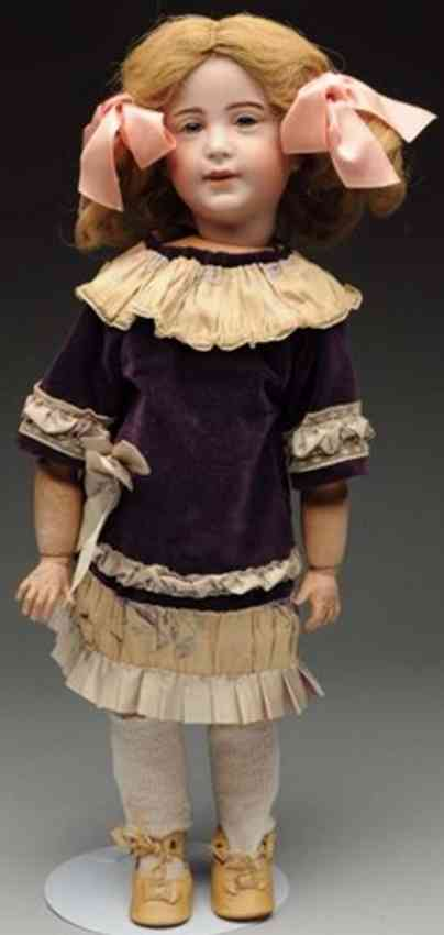 sfbj 238 french bisque socket head character doll