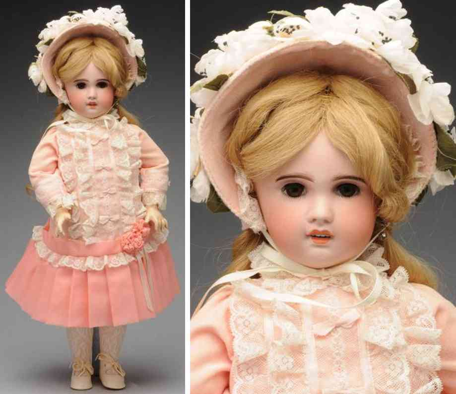 sfbj 9 bisque socket head bebe baby doll