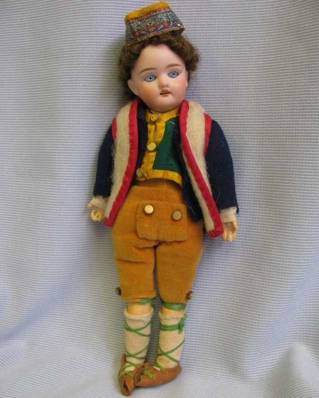 Scherf Paul 16/0 Bisque doll boy