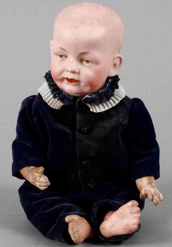 schmidt franz & co 1267 serious boy doll kaiser baby bisque head