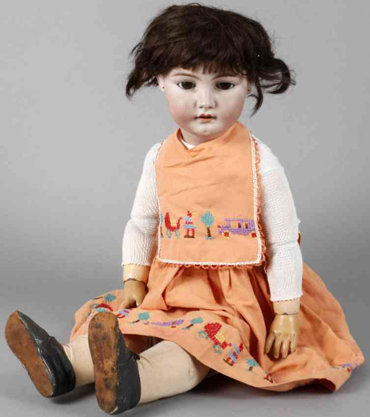 schmidt franz & co 16 porcelain head doll
