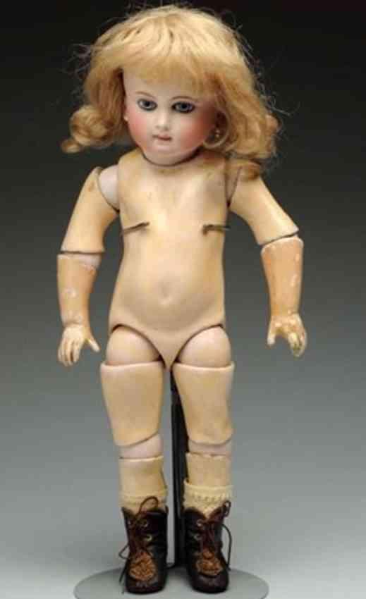 schmitt & fils 2 fabulous bisque socket head baby doll