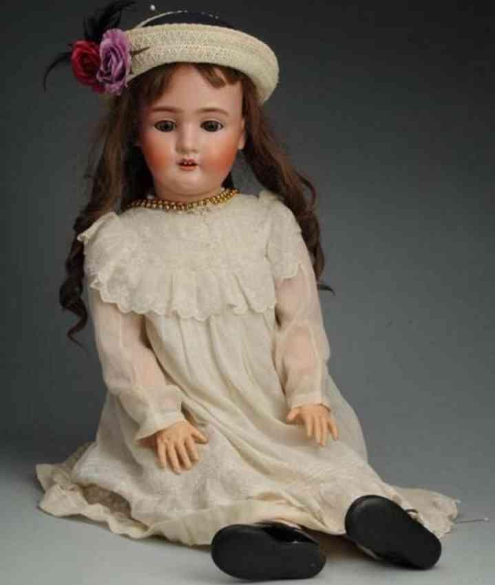 schonau & hoffmeister 1906 bisque head child doll
