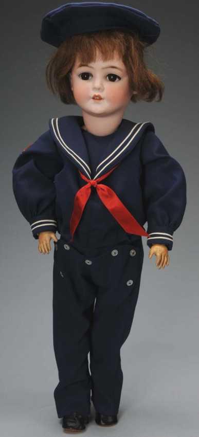 Schönau & Hoffmeister 5800 Bisque socket head doll