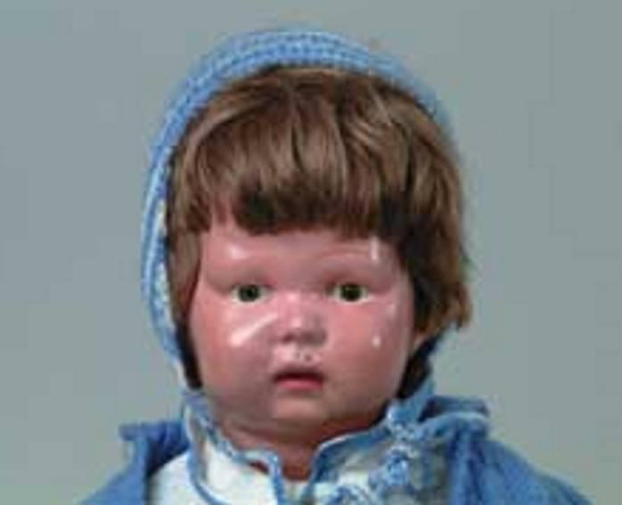 schoenhut wooden doll baby
