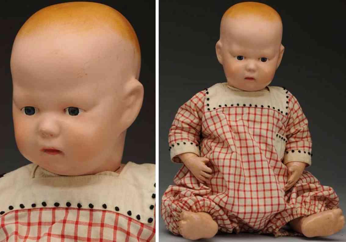schoenhut Baby babypuppe aus holz