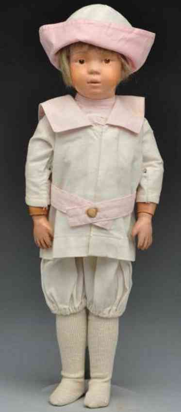 Schoenhut boy wood characater doll