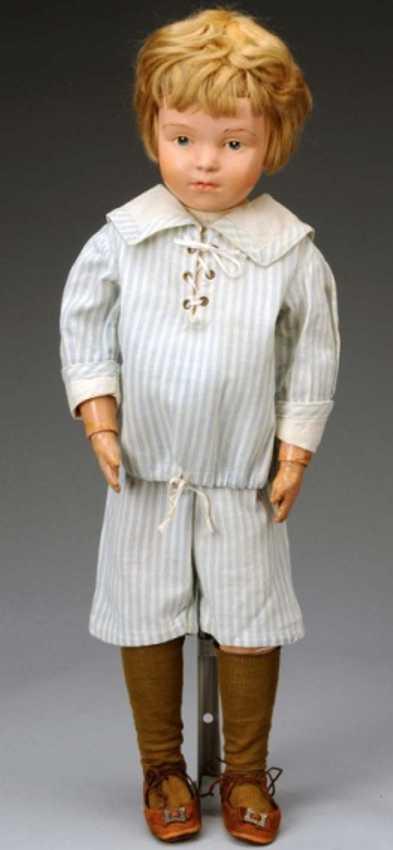 schoenhut boy wooden character boy doll