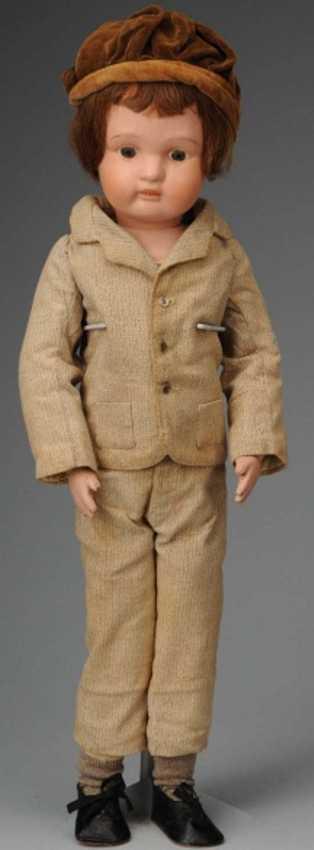 schoenhut boy wooden boy doll