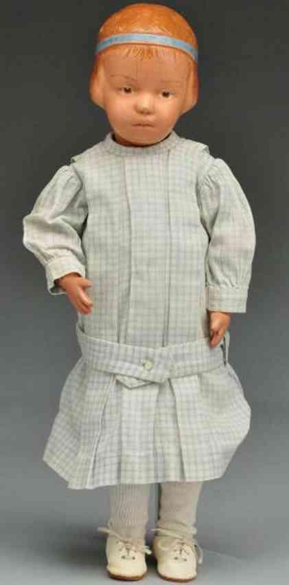 schoenhut girl maedchen charakterpuppe aus holz