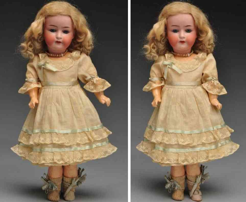 Seyfarth & Reinhardt 312 Bisque socket head child doll Ernst Heubach