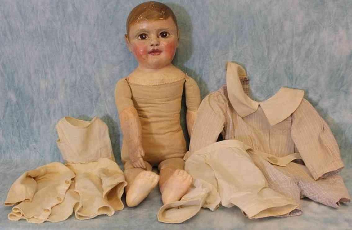 jb sheppard  & company cloth dol philadelphia baby