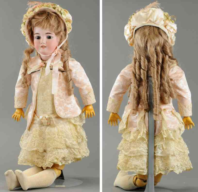 simon & halbig 1079 14 1/2 child doll bisque head