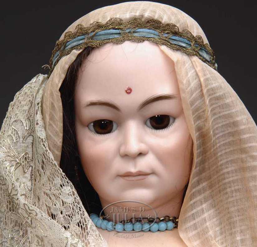 Simon & Halbig 1303 10 asiatische Frauenpuppe