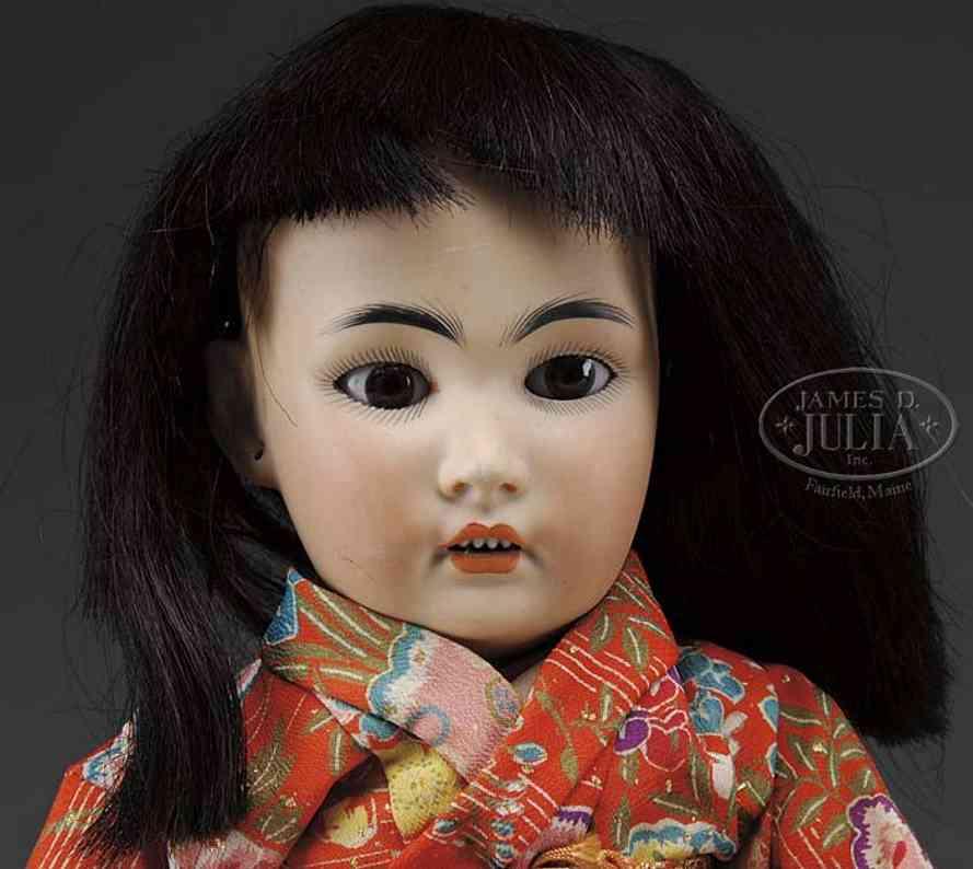 simon & halbig 1329-6  asiatische babypuppe