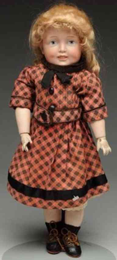 simon & halbig 151 bisque socket head character doll