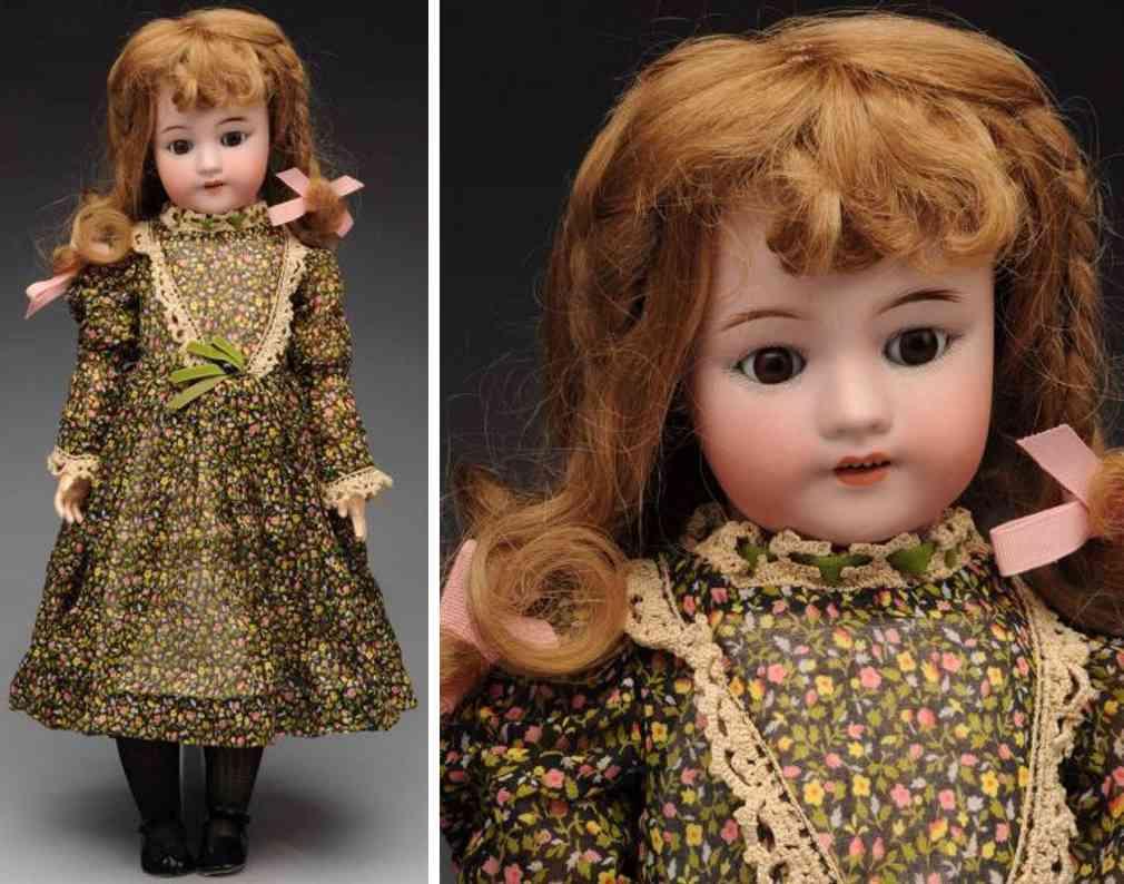 simon & halbig 550 bisque socket head child doll