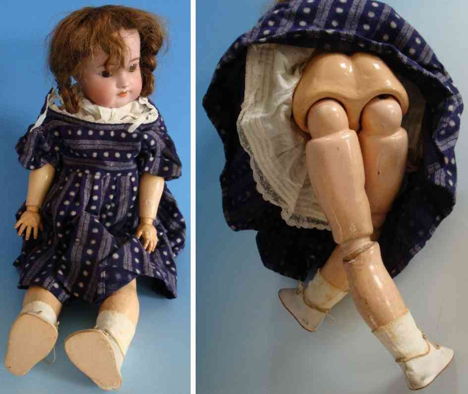 simon & halbig 570 porcelain head doll