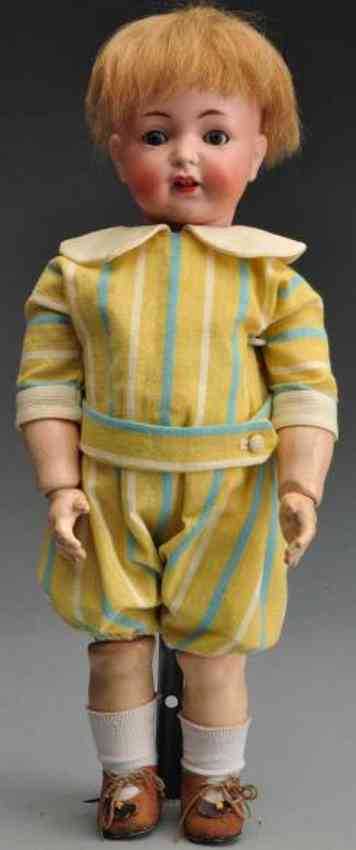 Simon & Halbig 616 Bisque socket head character doll