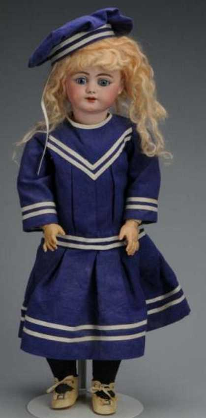 simon & halbig 719 bisque head child doll