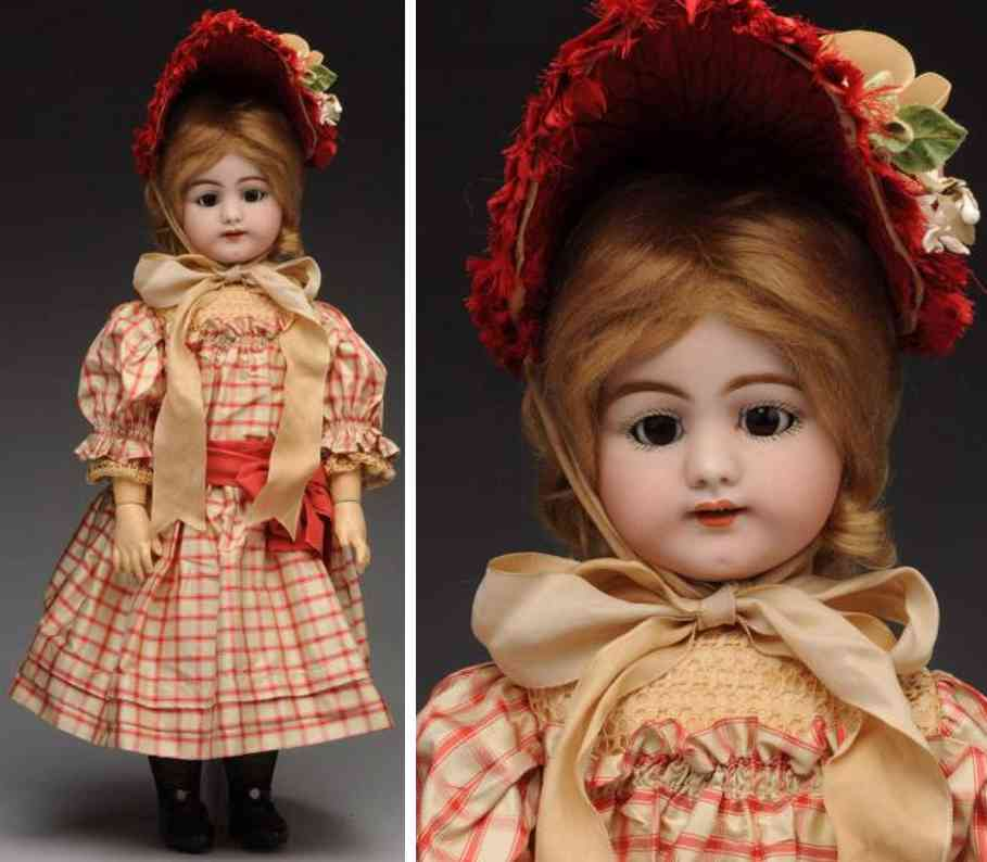 simon & halbig 719 12 bisque socket head child doll