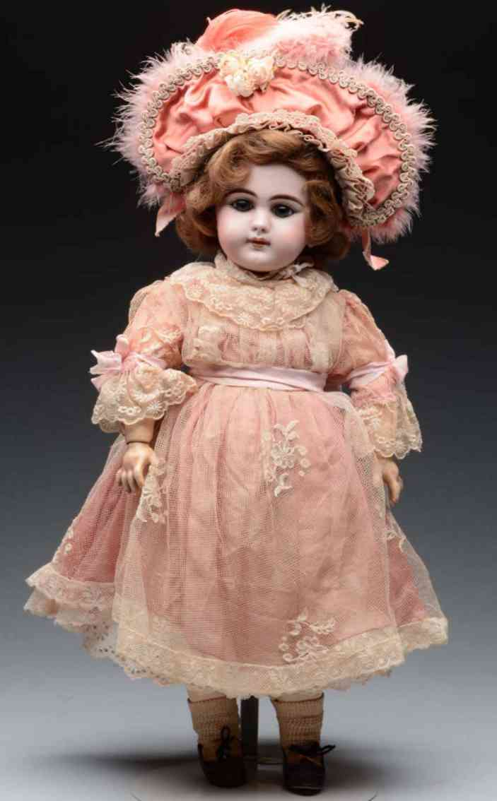 simon & halbig 749 8 46 perfect german bisque socket head baby doll
