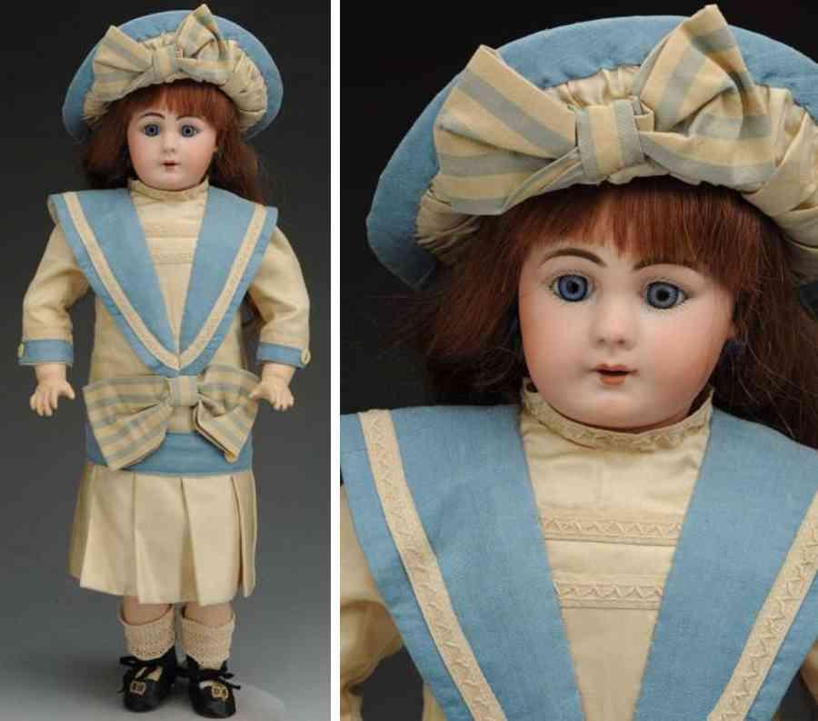 simon & halbig 939 bisque socket head child doll