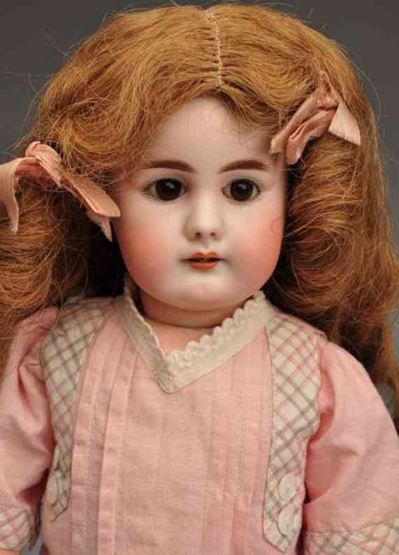 simon & halbig 949 (38) dolls pale bisque socket head child doll, head incised ?s & h 949?