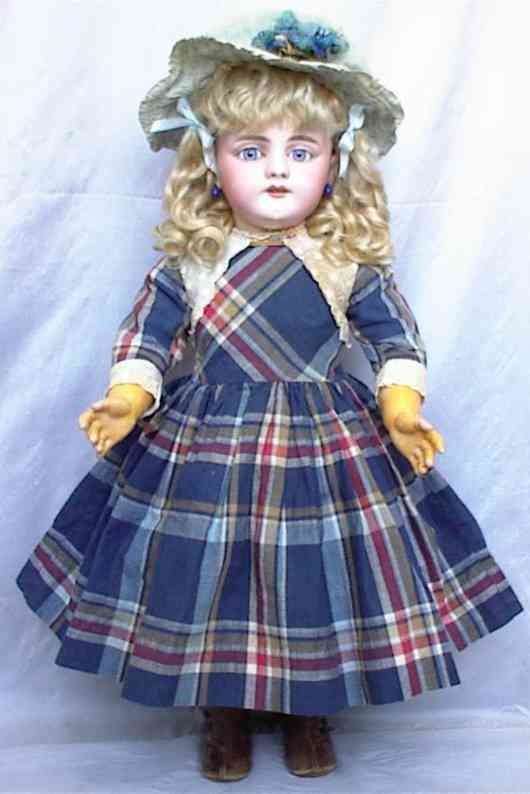 simon & halbig 979 bisque head doll