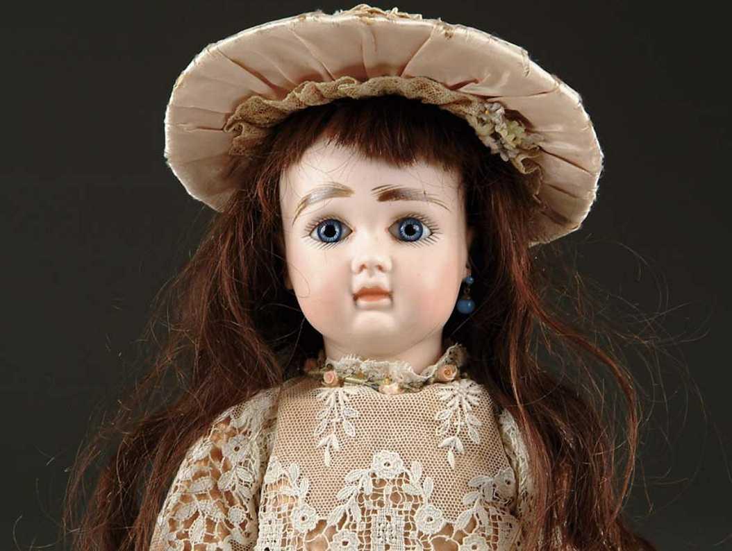steiner jules nicholas sgdg paris A 7 bisque head doll