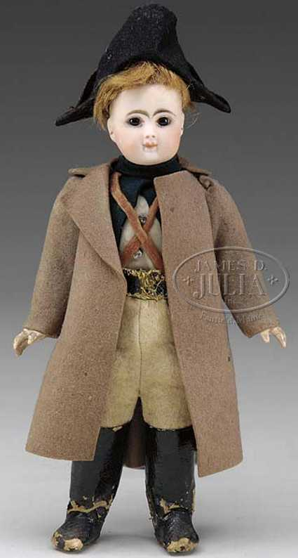 Steiner Jules Nicholas A 0 Doll in military costume