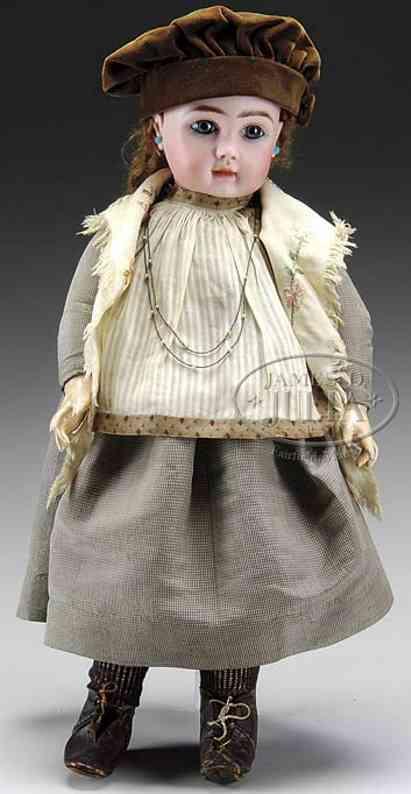 Steiner Jules Nicholas A 11 bisque Doll