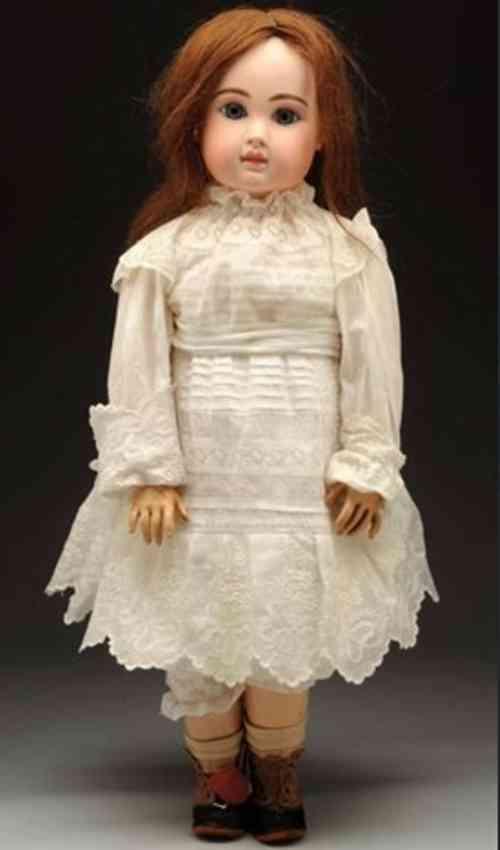 steiner jules nicholas bte sgdg paris fire a 19 bisque socket head doll