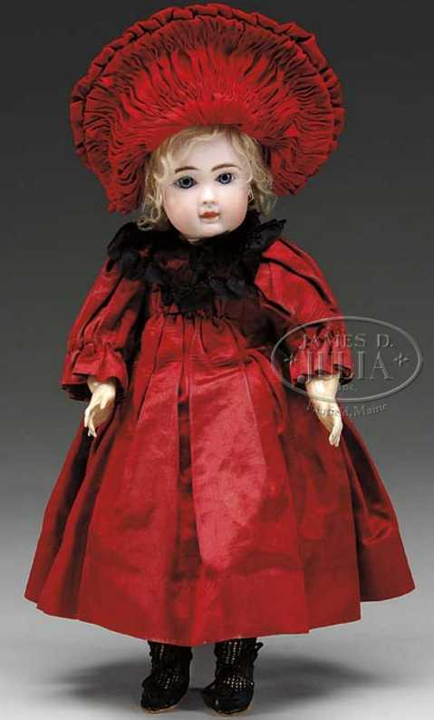 steiner jules nicholas A 7 bisque head doll