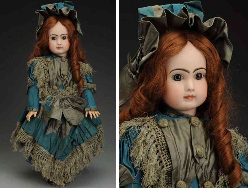 steiner jules nicholas a 15 bisque socket head doll